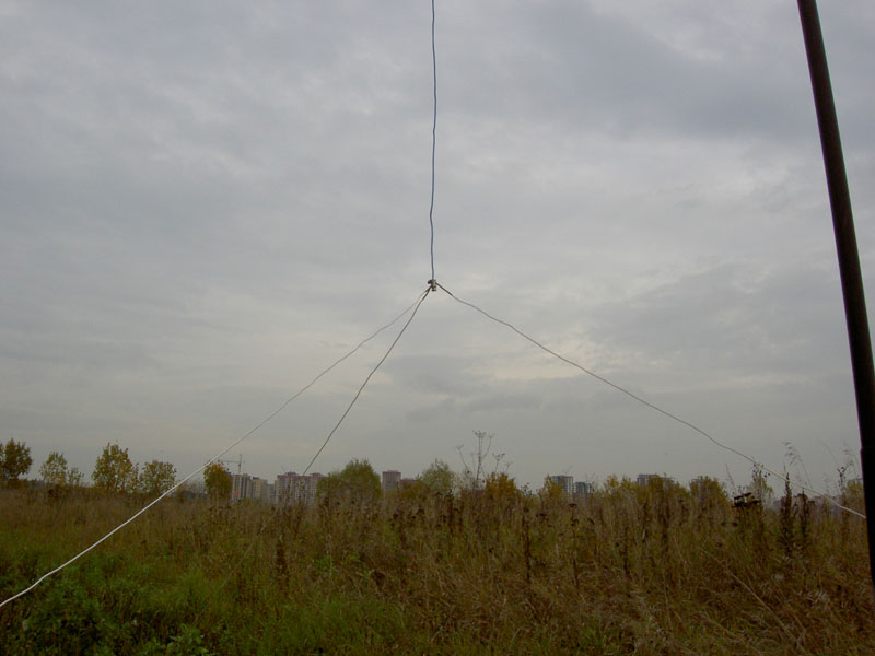 Многодиапазонная антенна Inverted L | RUQRZ.COM - сайт ...